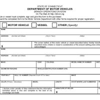 Ct dept of motor vehicles forms for New york state department of motor vehicles handicap parking permit